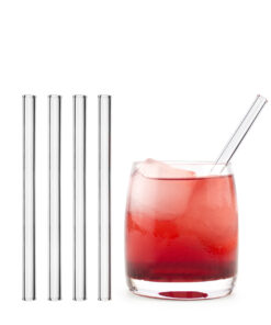 Szklane słomki - ekologiczne i wytrzymałe
